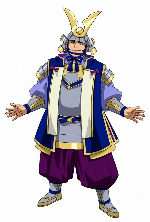 家康の息子・徳川秀忠。傲慢な性格で権力を振りかざす