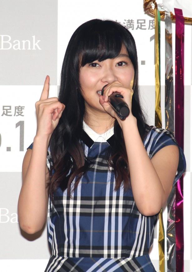 来年の総選挙1位を誓ったHKT48・指原莉乃