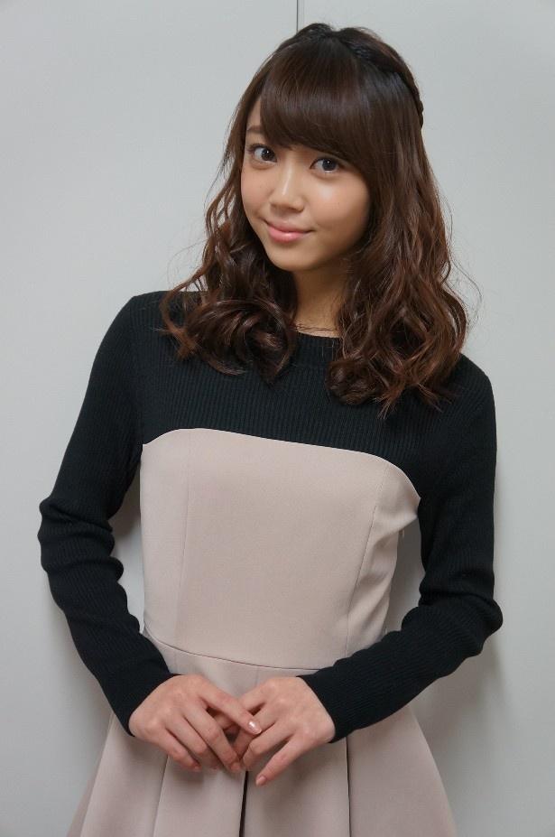 山谷は事務所の先輩である主演・沢尻エリカとの共演に緊張しっ放しとのこと!