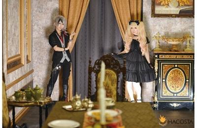 このセットなら、クラシカルな衣装でも違和感なく撮影できる ※写真はHACOSTADIUM大阪「ゴシック」