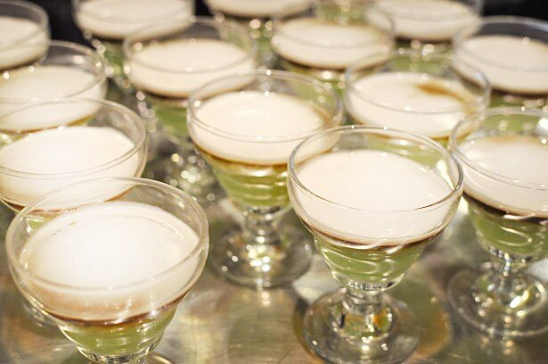 タピオカの食感と、ココナッツミルクの香りが絶品のタピオカココナッツミルク