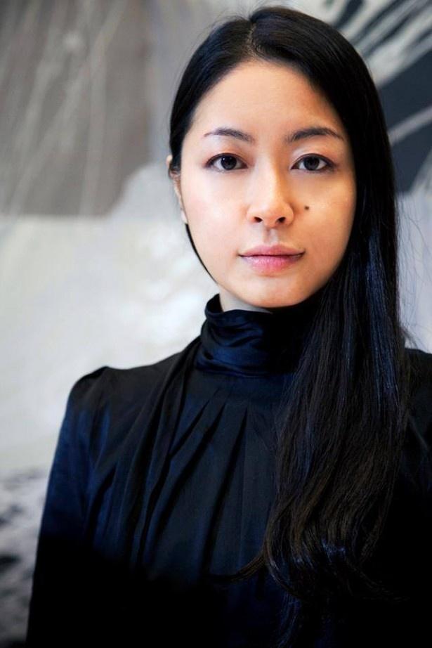 書家・川尾朋子さん。同志社大学卒業なので今年も出演!