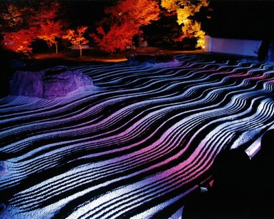 うどん、そば、饅頭の発祥の地とされる承天寺。期間中は夜市を開催する