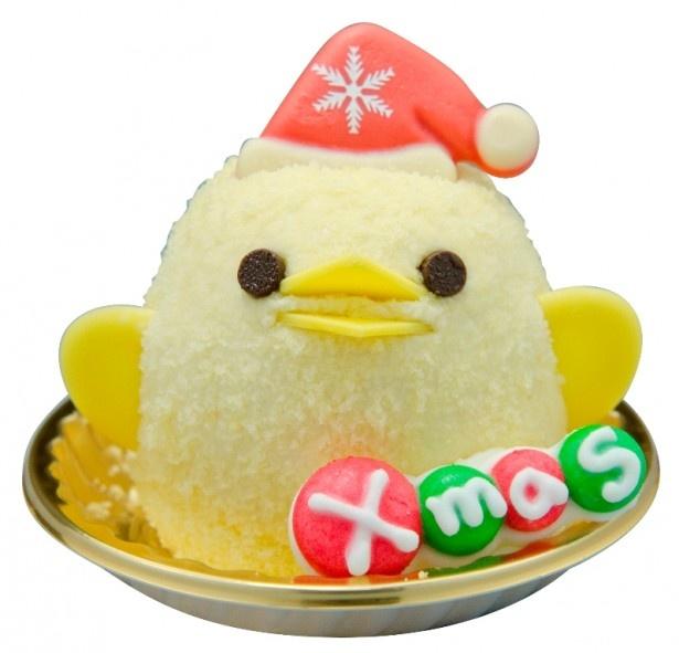 「クリスマスぴよりん」(370円)は、11月21日(金)から12月25日(木)までの期間限定販売