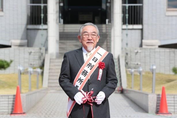 大阪刑務所の1日所長を務めた高橋元太郎が、「マッサン」での演技について語る