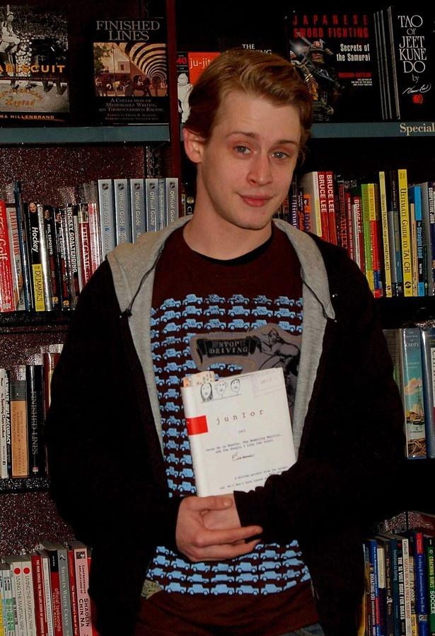 06年当時のカルキン。伝記&暴露本「Junior」を出した