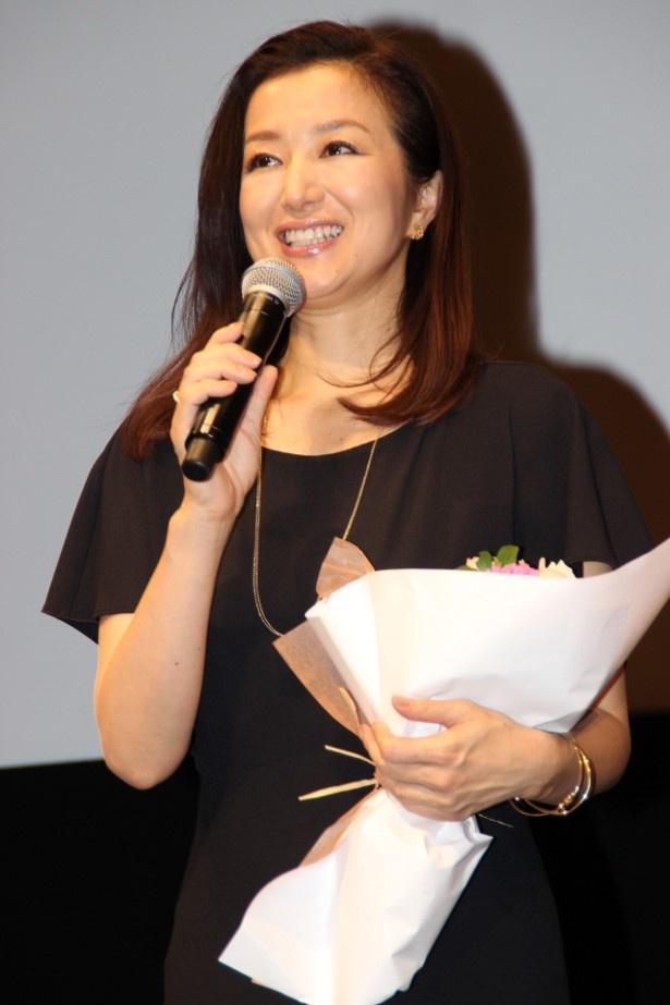 『救いたい』の主演を務めた鈴木京香