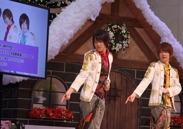 スペシャルゲスト「ブレイク☆スルー」のミニライブも行なわれた