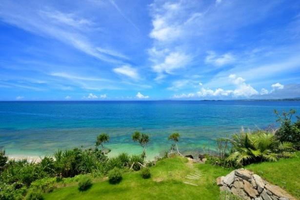 【写真を見る】青い海の絶景&幻想的な夜景など「ニーフェ」を細かくチェック!