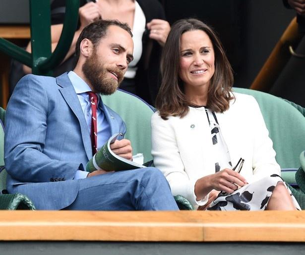キャサリン妃の妹ピッパと弟ジェームズ