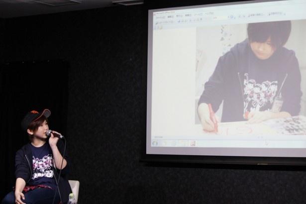 2ステージ目では罰ゲームの様子が、写真と映像を交えて紹介された