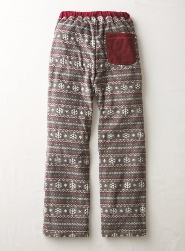 「異素材パンツ」