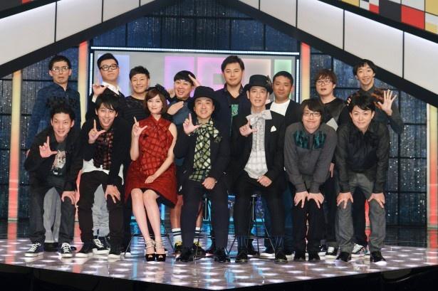 12月13日(土)放送の「LIFE!ステージ~人生に捧げるコントライブ~」の出演者たち