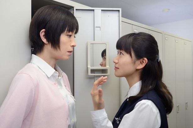 大島演じる相川恵子は、梨花(宮沢りえ)が働く「わかば銀行」の窓口係