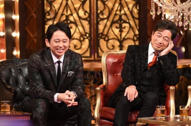 【写真を見る】11月13日(木)放送には、MCの嵐・櫻井翔の大学の先輩でもある中村雅俊(写真右)も出演。櫻井とのプライベートを明かす