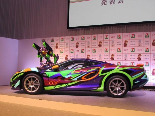 【写真を見る】「エヴァンゲリオン オロチ」の価格は1600万円!
