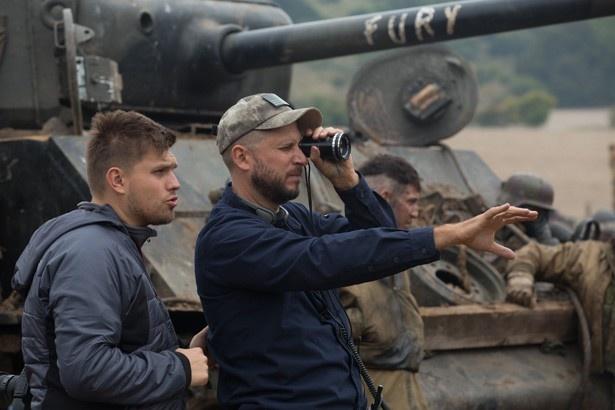 ありふれた戦争映画とは違うと語るエアー監督