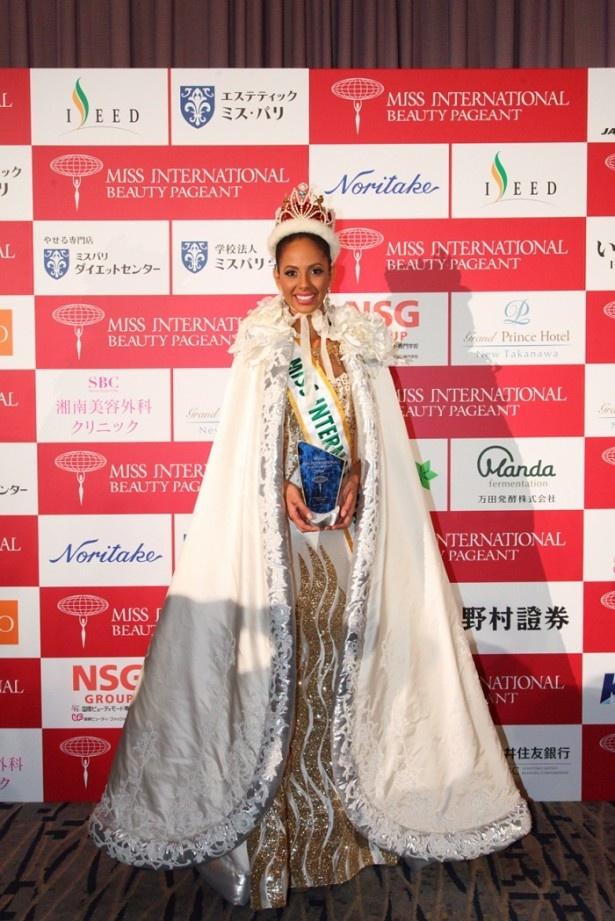 「2014ミス・インターナショナル世界大会」でプエルトリコ代表がグランプリを獲得