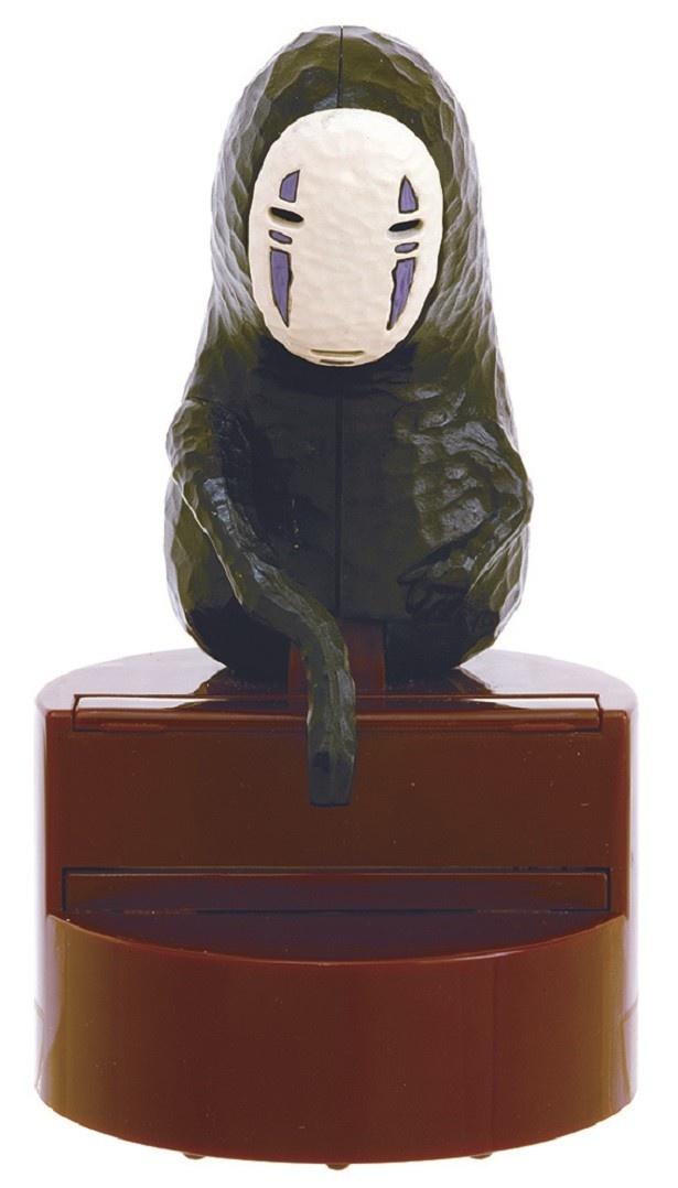 「千と千尋の神隠し カオナシ楊枝取り」(税抜1800円)。木彫り調のカオナシがどことなくユーモラス