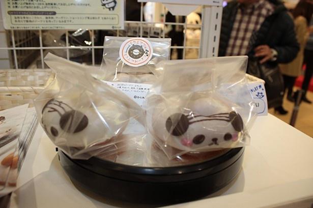 「イクミママのどうぶつドーナツ」(350円)は食べるのがもったいないほどキュート