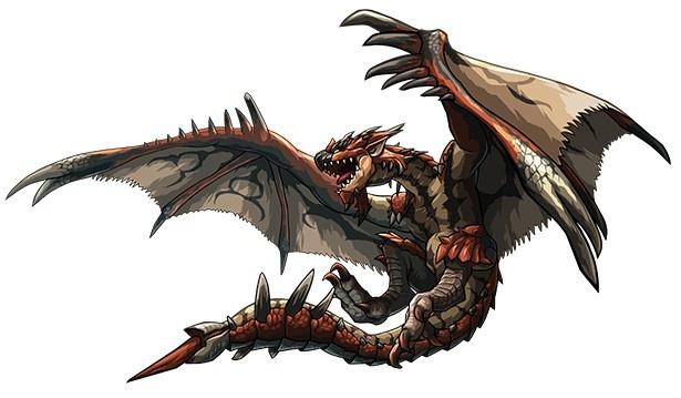 シリーズを代表するモンスター「リオレウス」