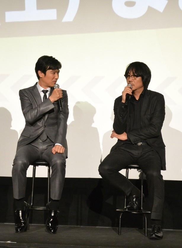 堺と大森は「法廷シーン」について熱く語った