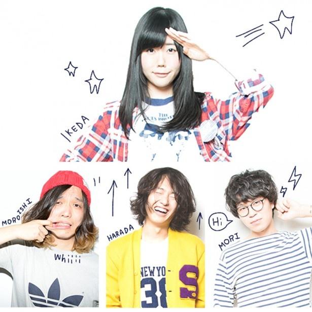 カップリング曲「1000%の片想い」の編曲は、4人組バンド・Shiggy Jr.が担当