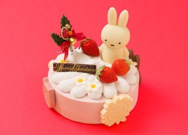 かわいいクリスマスケーキ 「ミッフィーのクリスマス」(4500円)が新登場