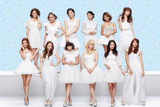 「―ベストアーティスト2014」に出演するE-girls