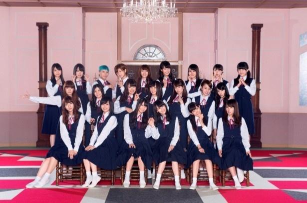 「―ベストアーティスト2014」に出演するNMB48
