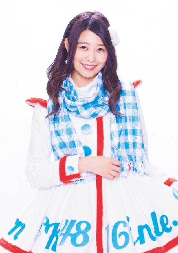初水着グラビアに挑戦し、その模様が「※AKB調べ」で放送されることになったSKE48・宮前杏実