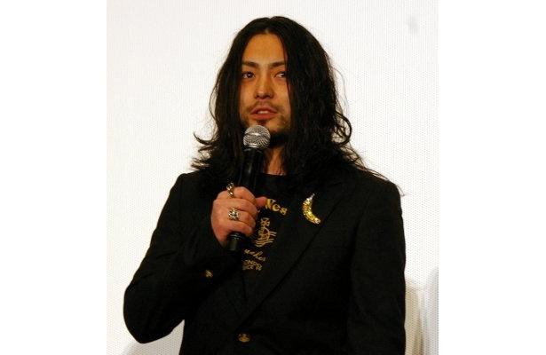 いつもながらマイペースのコメントをしていた山田孝之
