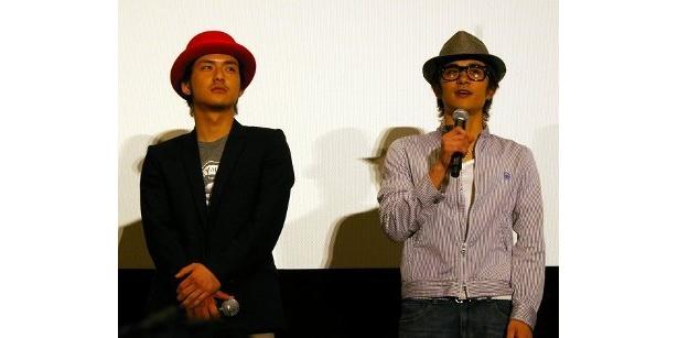 石田卓也、と斎藤祥太。残念ながら斎藤慶太は「王様のブランチ」出演のために欠席