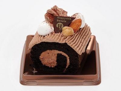 【写真を見る】ミニストップから発売される「ベルギーチョコレートノエル・ミニ」(280円)は、ベルギーチョコレートを使用したガナッシュが濃厚!
