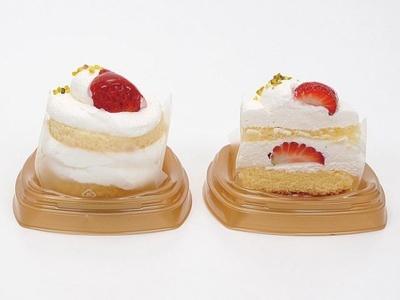 ミニストップから発売される「苺ショートケーキ」(280円)は、厳選した素材で作るシンプルな味わいが魅力