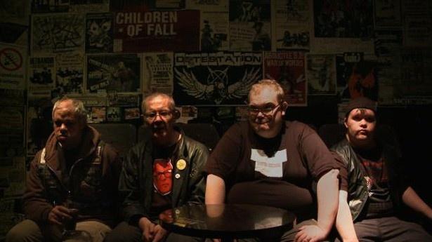 知的障がいをもった4人で構成されたパンクロックバンドのドキュメンタリー『パンク・シンドローム』