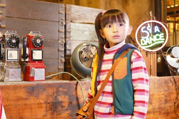 新ドラマ「お兄ちゃん、ガチャ」で、貧乏な家庭に生まれ育った雫石ミコを演じる鈴木梨央