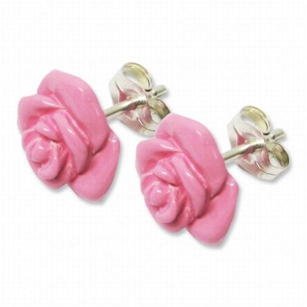 「ジュピターピンクローズピアス」(1万1880円、送料・手数料別途)は、セーラージュピターがつけているバラのピアスを再現