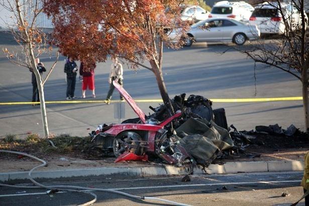 車が大破するほどの大事故だった