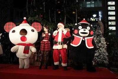 パルコのキャラクター、パルコアラを交えたクリスマストーク