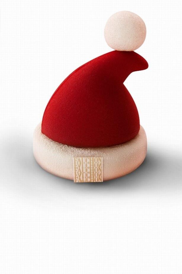 チョコレートムースのケーキ「サンタハット」(税抜2000円)は、クリスマスを表現したキュートな仕上がり!