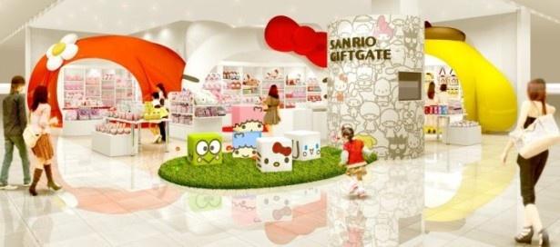 キュートな外観に吸い込まれそう!Sanrio Gift Gateグランツリー武蔵小杉店は11月22日(土)にオープン