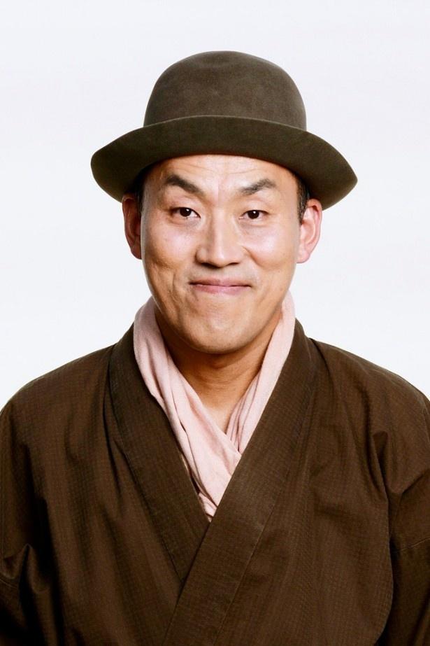 「喫茶面影」の常連客・眠山役の山西惇