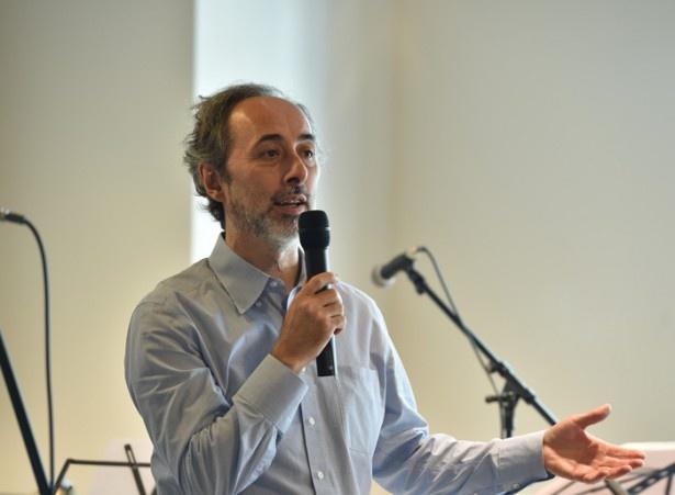 内覧会に出席した、Zebra社の創業者レナート・ライボシツ氏