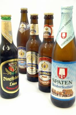 ドイツビアレストラン、「フランツクラブ」や「シュタインハウス」、「フランツィスカーナー バー&グリル」などでは超レアなドイツビール5種が半額に!