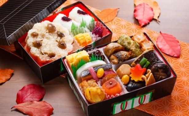 第1回神奈川なでしこブランド認定のF-STYLE PROJECT×湯本富士屋ホテルの「箱根姫籠膳」。「インカのめざめ」の素揚げなど旬の食材を使用