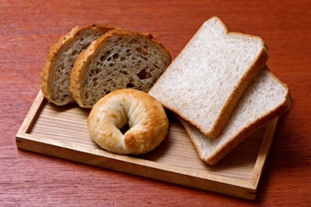 全粒粉入りの食パンや発芽玄米入りのパン、玄米粉で作ったパンなどオールブランのパンより手に入りやすい
