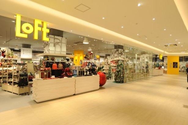 LOFT(ロフト)の店内には、渋谷ロフトの商品情報や取り寄せサービスが利用できるウェルカムセンターを設置