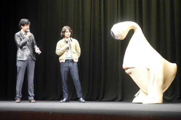 山崎監督はミギーについて「(「モンスターズ・インク」の)マイク・ワゾウスキみたい」