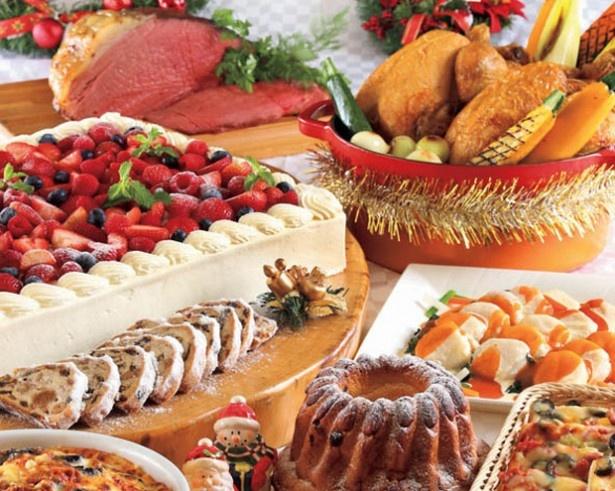 「ビッグクリスマスショートケーキ」など、クリスマス限定のスイーツメニューなども多数。ケーキだけでも数種類あり、クリスマス気分がさらに盛り上がる